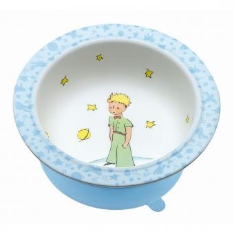 Schale mit Saugboden blau Der kleine Prinz