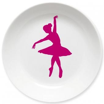 Ballett Kleiner Teller (pink)