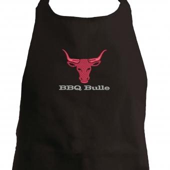Grillschürze BBQ-Bulle schwarz
