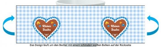 Kleiner Bruder Becher hellblau
