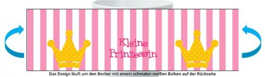 Prinzessin Becher rosa