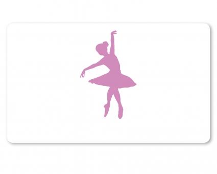 Ballett Brettchen flieder