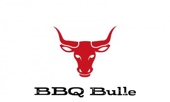 BBQ-Bulle Brettchen dunkelrot
