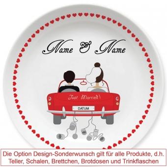 Just married Design Sonderwunsch