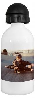 Ihr Foto & Design Alu-Trinkflasche mit Sportverschluss, 500ml