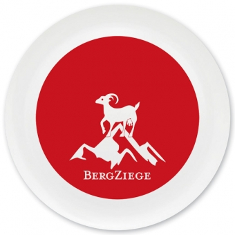 Bergziege Grill-/ Pizzateller dunkelrot