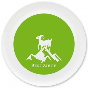 Bergziege Grill-/ Pizzateller hellgrün