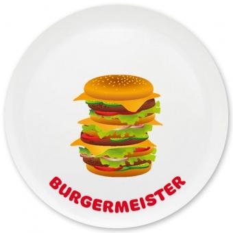 Burgermeister Grill-/ Pizzateller bunt