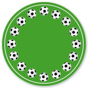 Fußball Grill-/ Pizzateller grün