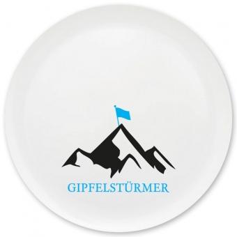 Gipfelstürmer Grill-/ Pizzateller türkis