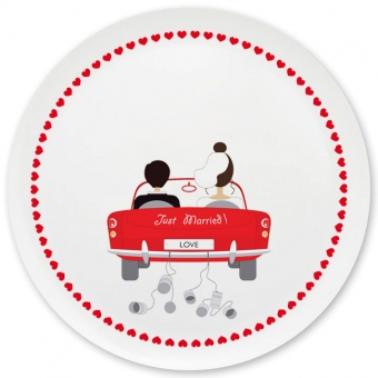 Just married Grill-/ Pizzateller rot