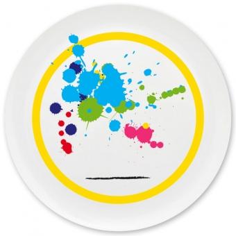 Nachwuchskünstler Grill-/ Pizzateller gelb
