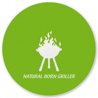 Natural Born Griller Grill-/ Pizzateller hellgrün