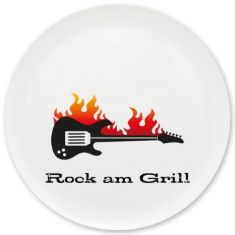 Rock am Grill Grill-/ Pizzateller bunt