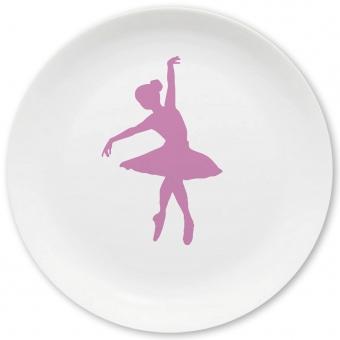Ballett Großer Teller flieder