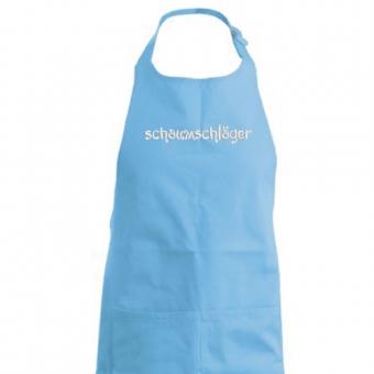 Kochschürze Schaumschläger hellblau