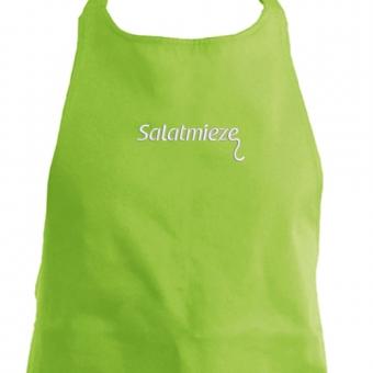 Grillschürze Salatmieze hellgrün