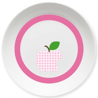 Apfelbiss Schale rosa