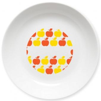 Apples Schale orange