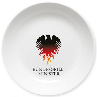 Bundesgrillminister Schale bunt
