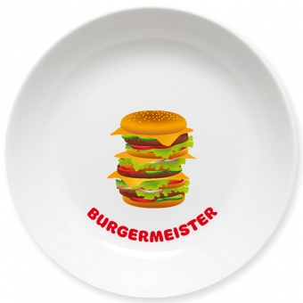 Burgermeister Schale bunt