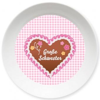 Große Schwester Schale rosa