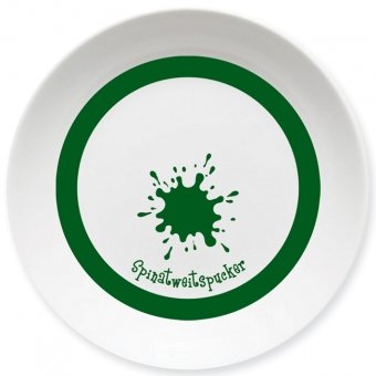 Spinatweitspucker Schale dunkelgrün