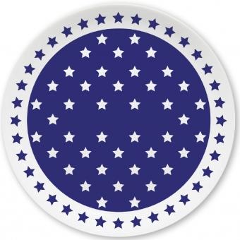 Sternchen Kleiner Teller (dunkelblau)