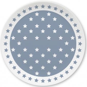 Sternchen Kleiner Teller (grau)