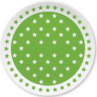 Sternchen Kleiner Teller (hellgrün)