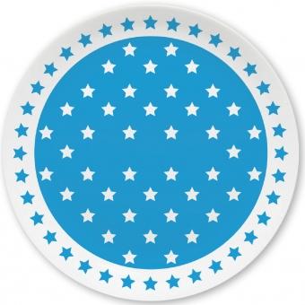 Sternchen Kleiner Teller blau