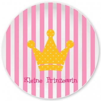 Prinzessin Großer Teller rosa