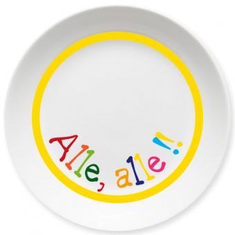 Alle Alle Kleiner Teller gelb