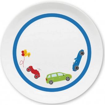 Autos Kleiner Teller (blau)