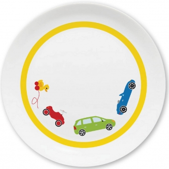 Autos Kleiner Teller (gelb)