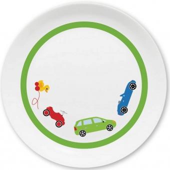 Autos Kleiner Teller (hellgrün)