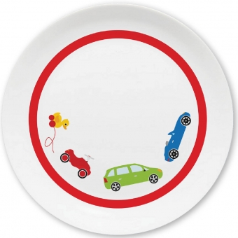 Autos Kleiner Teller (rot)