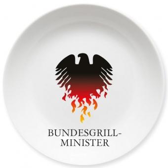 Bundesgrillminister Kleiner Teller bunt
