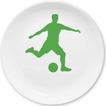 Dribbelkünstler Kleiner Teller (grün)