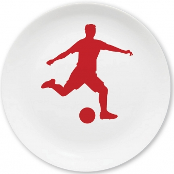 Dribbelkünstler Kleiner Teller (rot)