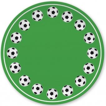 Fußball Kleiner Teller grün