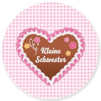 Kinderteller Kleine Schwester rosa