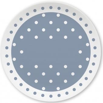 Pünktchen Kleiner Teller (grau)