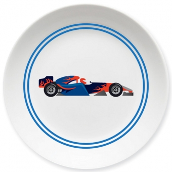 Racing Kleiner Teller dunkelblau