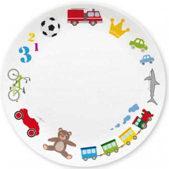 Spielzeug Jungen Kleiner Teller (blau)