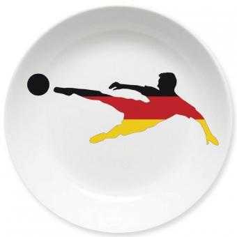 Torjäger Kleiner Teller (schwarz)