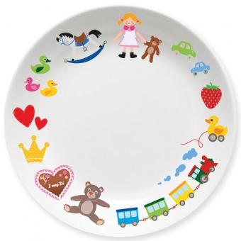 Spielzeug Mädchen Kleiner Teller (pink)