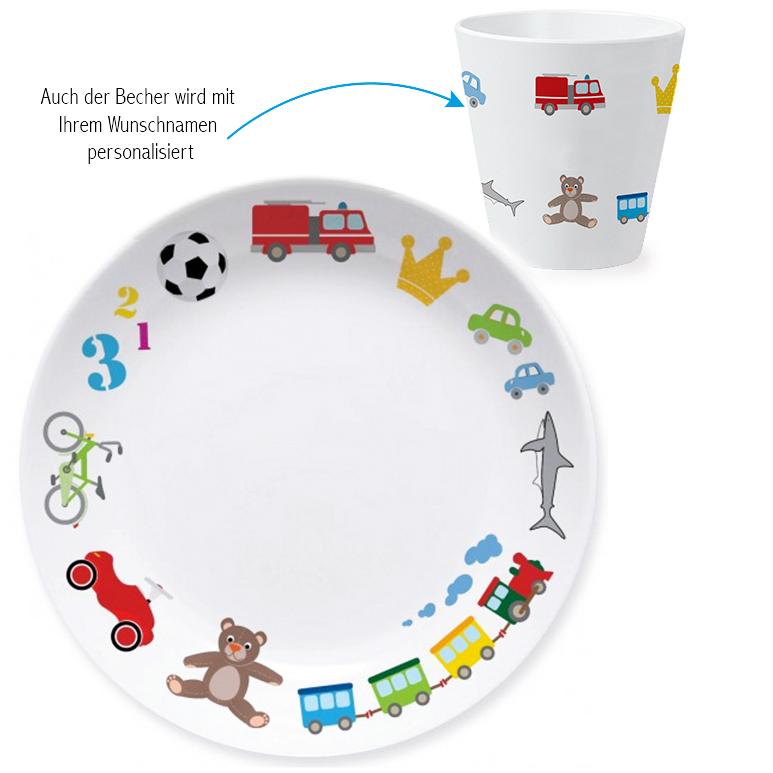 Spielzeug Jungen Kindergeschirr Set Als Geschenk Zum 1 Geburtstag
